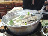 韓国ソウル「元祖ウォンハルメ・ソムンナン・タッカンマリ」韓国式鶏の水炊きは旨し